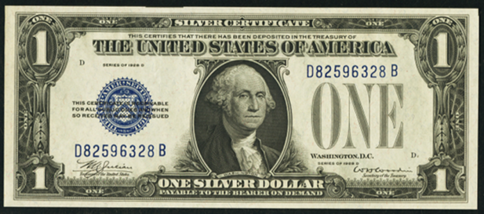 1928D $1 Silver Certificate Value – How much is 1928D $1 Bill Worth?