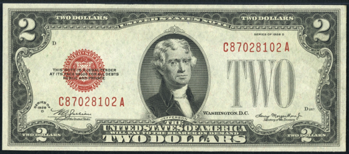 1928D $2 Legal Tender Value – How much is 1928D $2 Bill Worth?