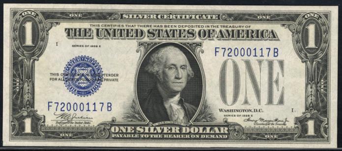 1928E $1 Silver Certificate Value – How much is 1928E $1 Bill Worth?