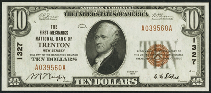 1929 $10 National Bank Notes Value – How much is 1929 $10 Bill Worth?