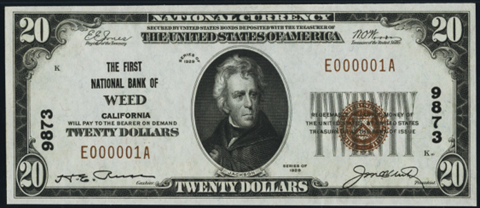 1929 $20 Bill Value – How Much Is 1929 First National Bank of Roodhouse Illinois $20 Worth?