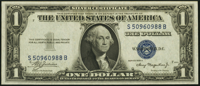 1935A $1 Silver Certificate Value – How much is 1935A $1 Bill Worth?