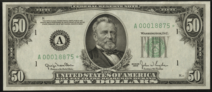 1950D $50 Federal Reserve Note Value – How much is 1950D $50 Bill Worth?