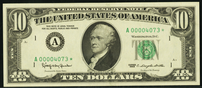 1963A $10 Federal Reserve Note Value – How much is 1963A $10 Bill Worth?