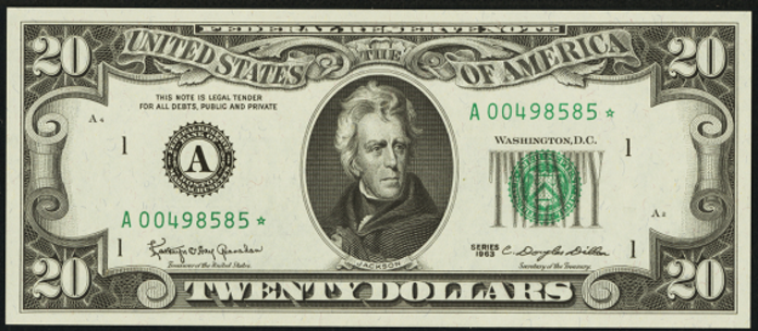 1969 $20 Federal Reserve Note Value – How much is 1969 $20 Bill Worth?