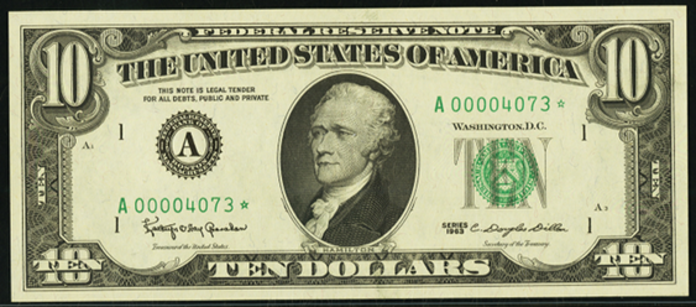 1969B $10 Federal Reserve Note Value – How much is 1969B $10 Bill Worth?
