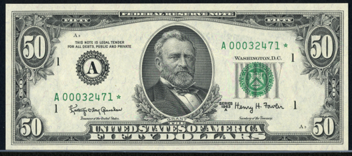 1974 $50 Federal Reserve Note Value – How much is 1974 $50 Bill Worth?