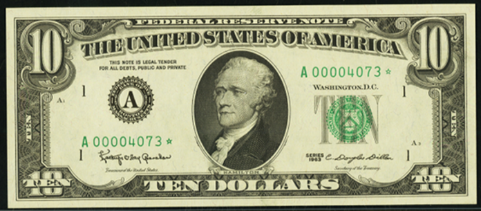 1974 $10 Federal Reserve Note Value – How much is 1974 $10 Bill Worth?