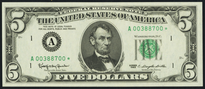 1977 $5 Federal Reserve Note Value – How much is 1977 $5 Bill Worth?