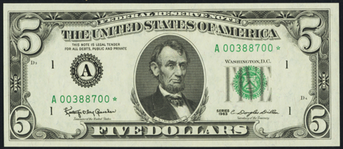 1982 $5 Federal Reserve Note Value – How much is 1982 $5 Bill Worth?