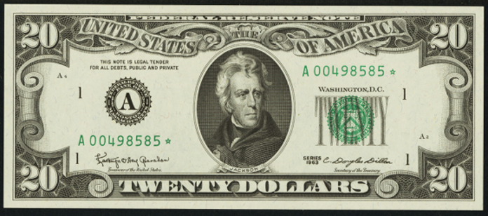 1981 $20 Federal Reserve Note Value – How much is 1981 $20 Bill Worth?