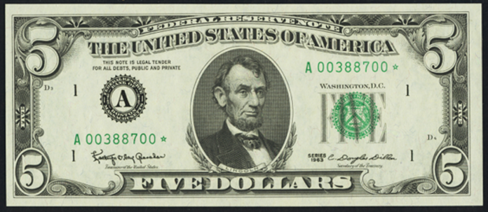 1981A $5 Federal Reserve Note Value – How much is 1981A $5 Bill Worth?