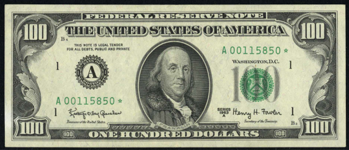 1981A $100 Federal Reserve Note Value – How much is 1981A $100 Bill Worth?