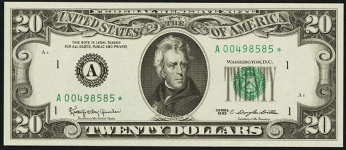 1985 $20 Federal Reserve Note Value – How much is 1985 $20 Bill Worth?