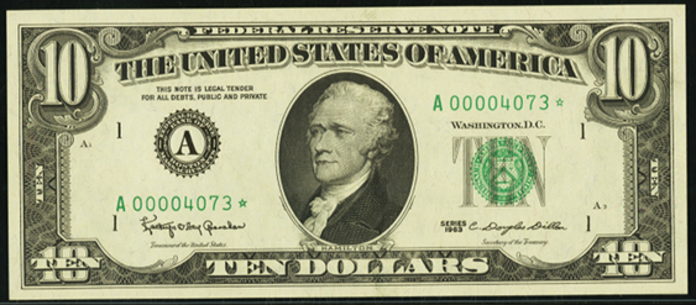 1988A $10 Federal Reserve Note Value – How much is 1988A $10 Bill Worth?