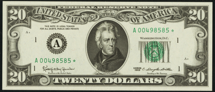 1988A $20 Federal Reserve Note Value – How much is 1988A $20 Bill Worth?