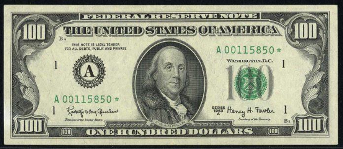 1993 $100 Federal Reserve Note Value – How much is 1993 $100 Bill Worth?