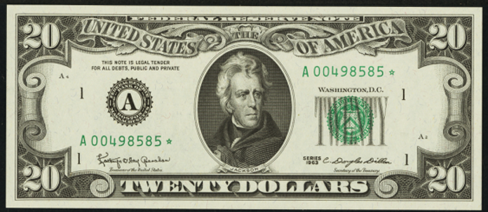 1995 $20 Federal Reserve Note Value – How much is 1995 $20 Bill Worth?