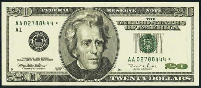 1996 $20 Federal Reserve Note Value – How much is 1996 $20 Bill Worth?