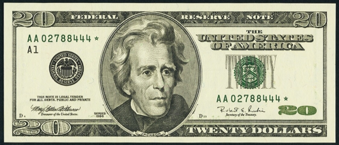 1999 $20 Federal Reserve Note Value – How much is 1999 $20 Bill Worth?