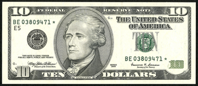 2003 $10 Federal Reserve Note Value – How much is 2003 $10 Bill Worth?