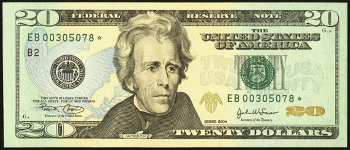 2004 $20 Federal Reserve Note Value – How much is 2004 $20 Bill Worth?