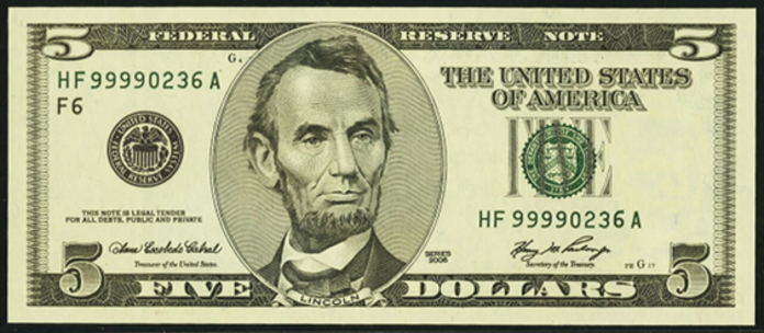 2006 $5 Federal Reserve Note Value – How much is 2006 $5 Bill Worth?