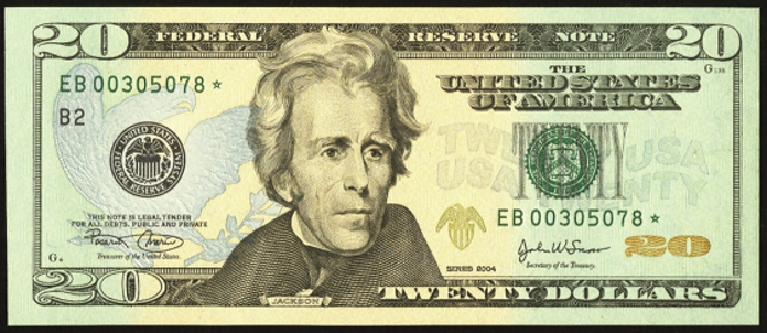 2006 $20 Federal Reserve Note Value – How much is 2006 $20 Bill Worth?