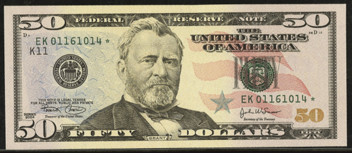 2009 $50 Federal Reserve Note Value – How much is 2009 $50 Bill Worth?