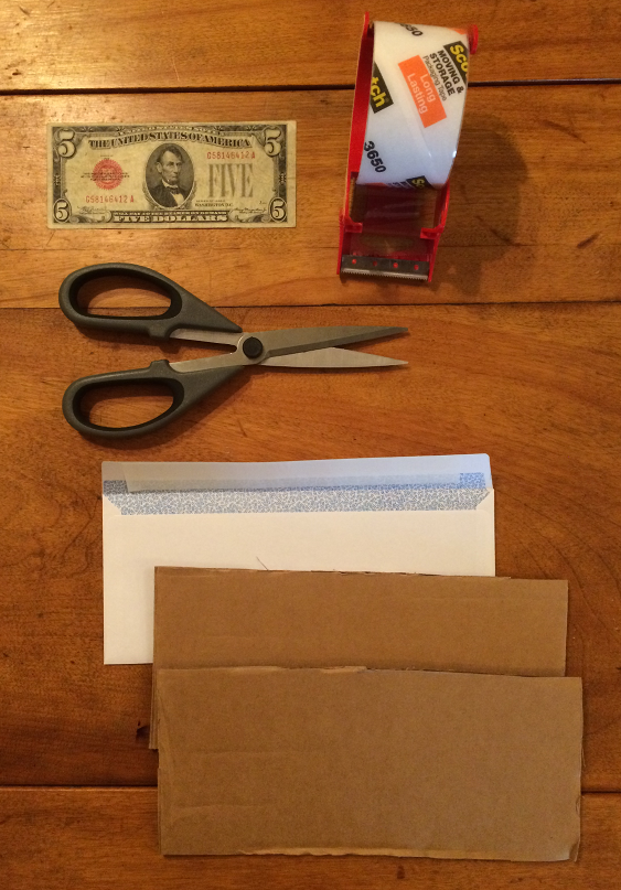 How to Pack Paper Money